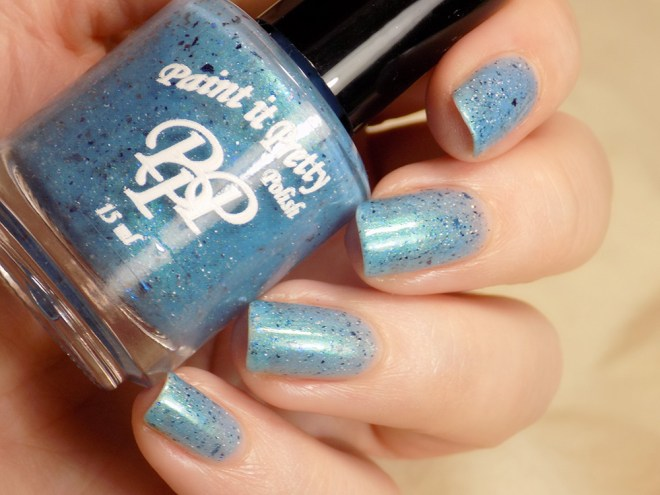 Paint it Pretty Polish - Water of the Sea Swatches 5