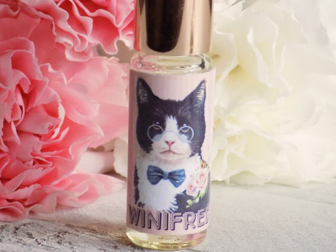 Death and Floral Cat Customs Indie Perfume Review - Winifred