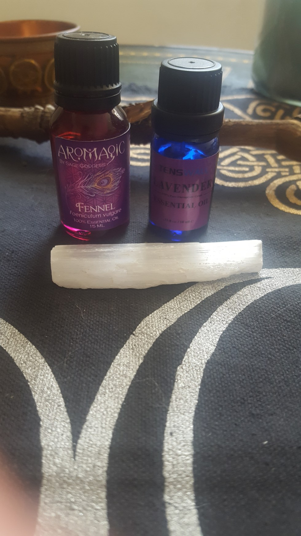 fennel and lavender