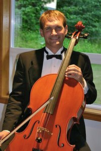 Cellist Matthew Rehfeldt