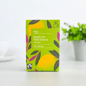 M&S Food Green Tea with Lemon