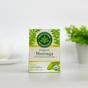 Traditional Medicinals Moringa, Sage and Spearmint