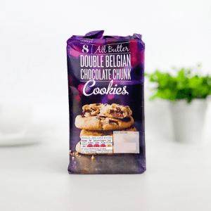 M&S Cookies Double Belgian Choc