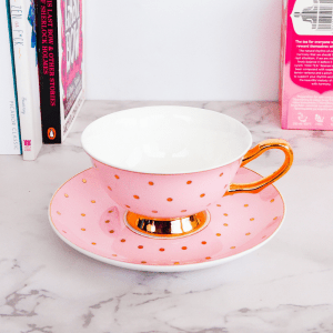Luxury Tea cup Pink
