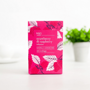 M&S Strawberry and Raspberry Infusion