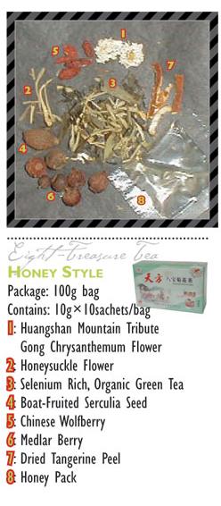 TeaBling.com Featured 8 Treasure Tea - Honey Label