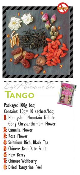 TeaBling.com Featured 8 Treasure Tea - Tango Label