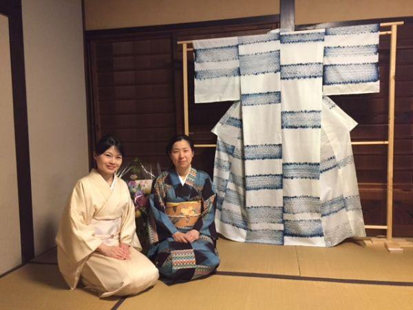 indigo yukata