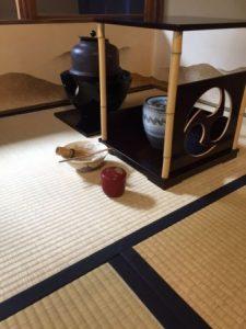 tea ceremony for Gion festival
