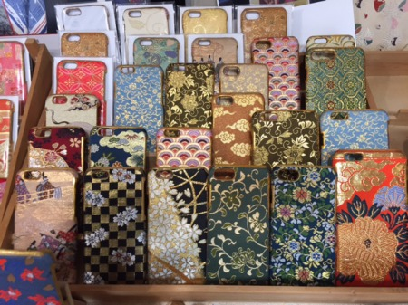 i-phone case made of silk kimono