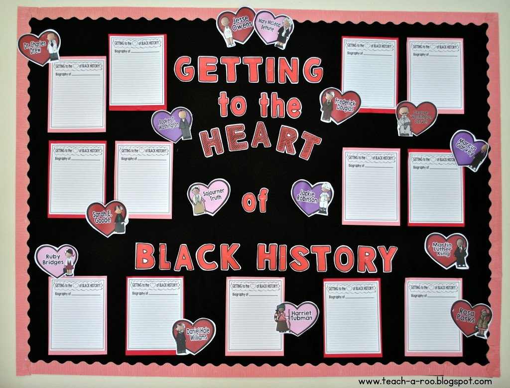 Getting To The Heart Of Black History Month Freebie