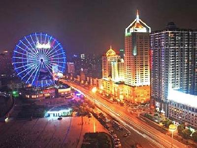 Changsha city center, Hunan Province