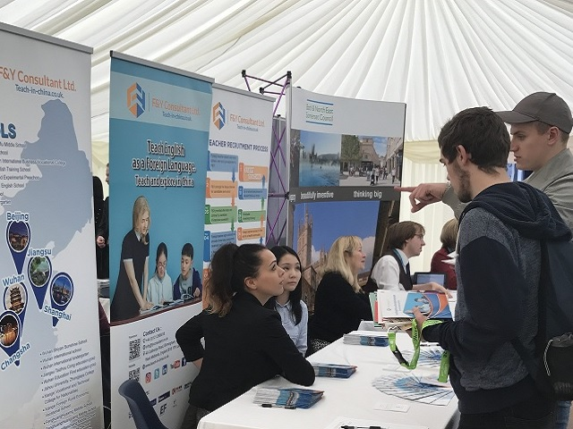 Bath Spa careers fair