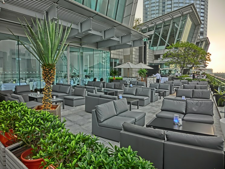 IFC Mall terrace restaurant