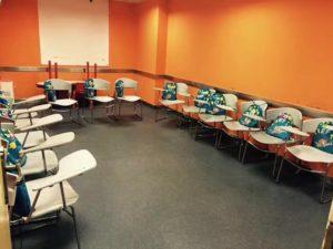 A classroom at EF Changsha