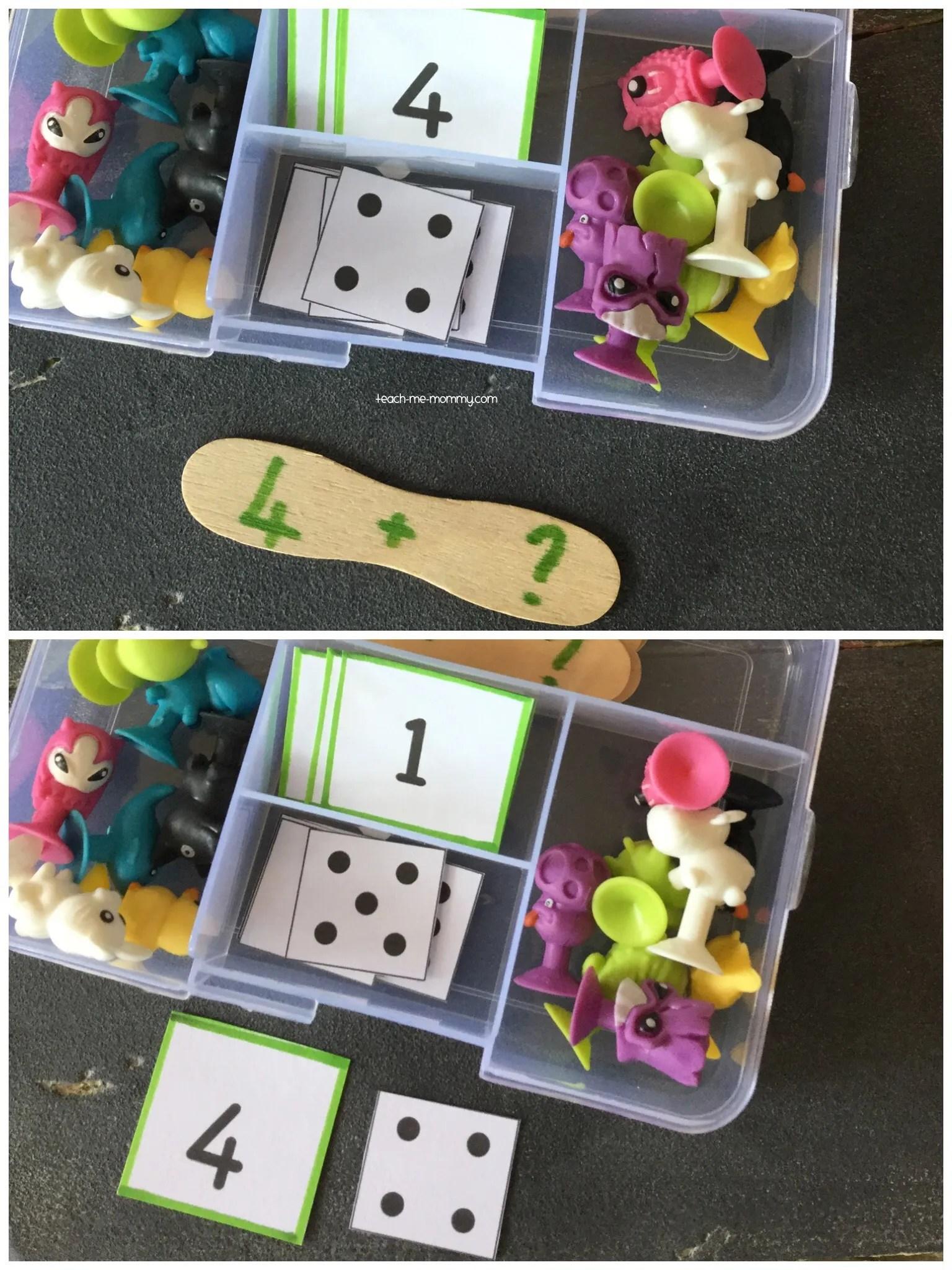 Tiny Ten Frame Busy Box