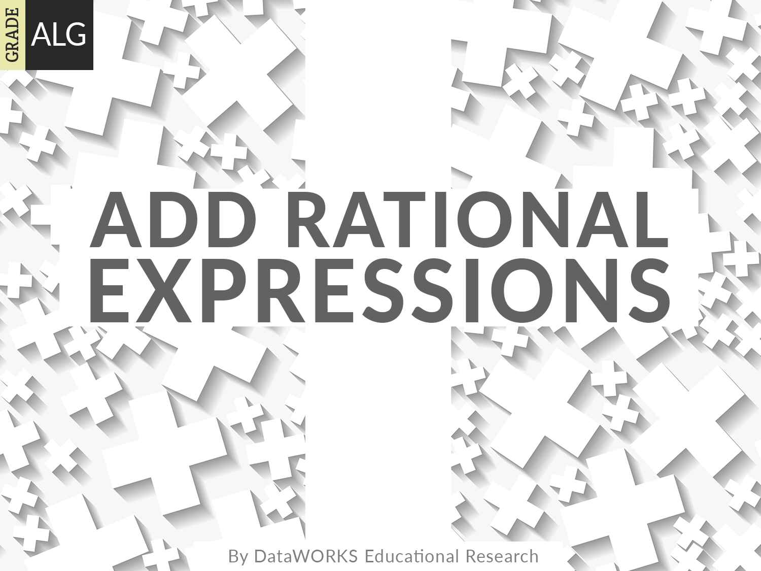 Add Rational Expressions
