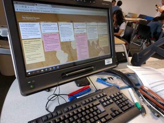 Padlet in the classroom