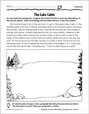 The Lake Cabin Visualizing