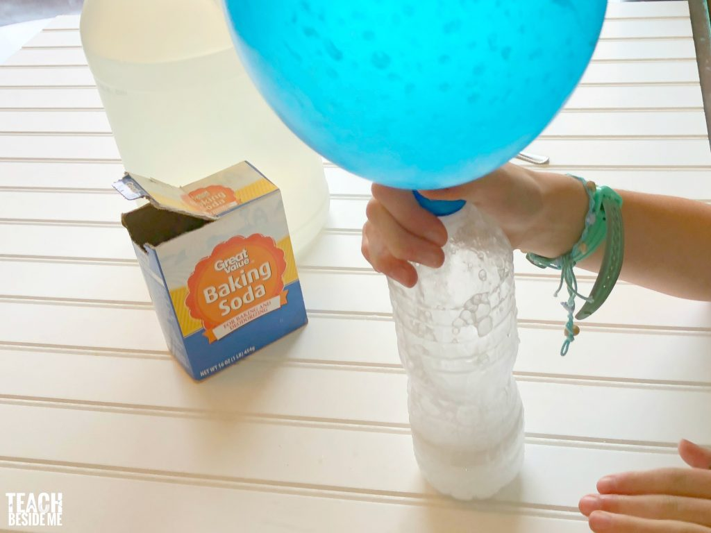 Self Inflating Balloon Baking Soda And Vinegar Balloon