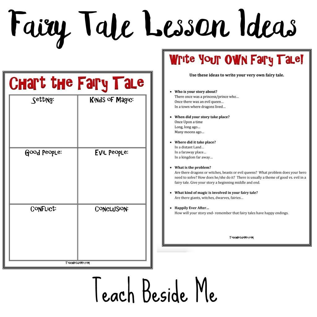 Worksheet Fairy Tale