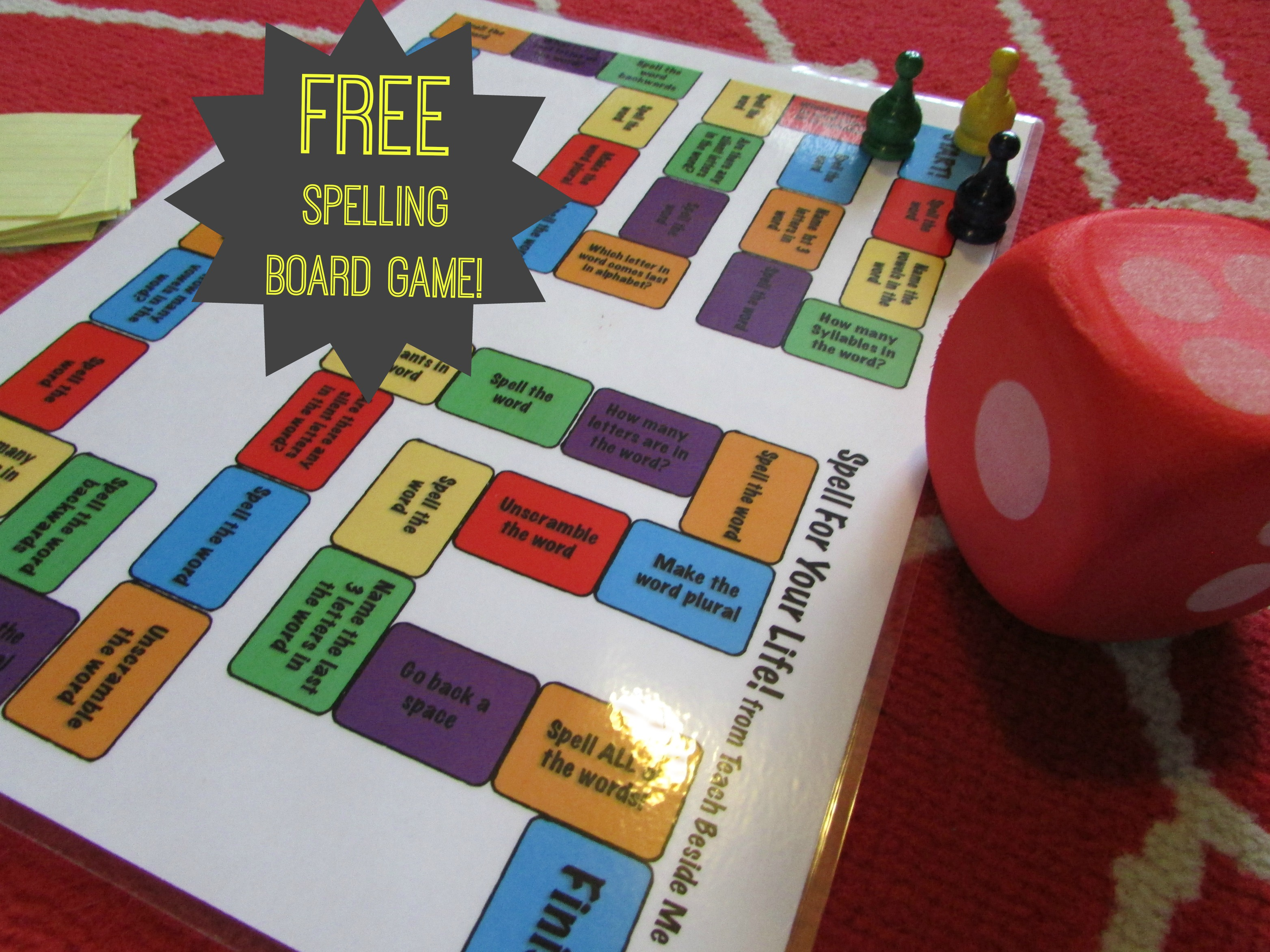 Spelling Review Games For 5th Grade