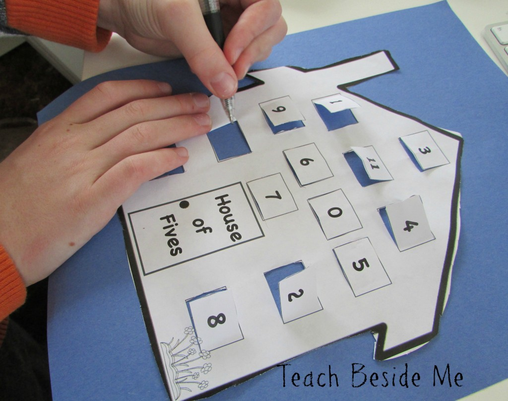 Multiplication Facts For Kids Multiplication Houses Printable