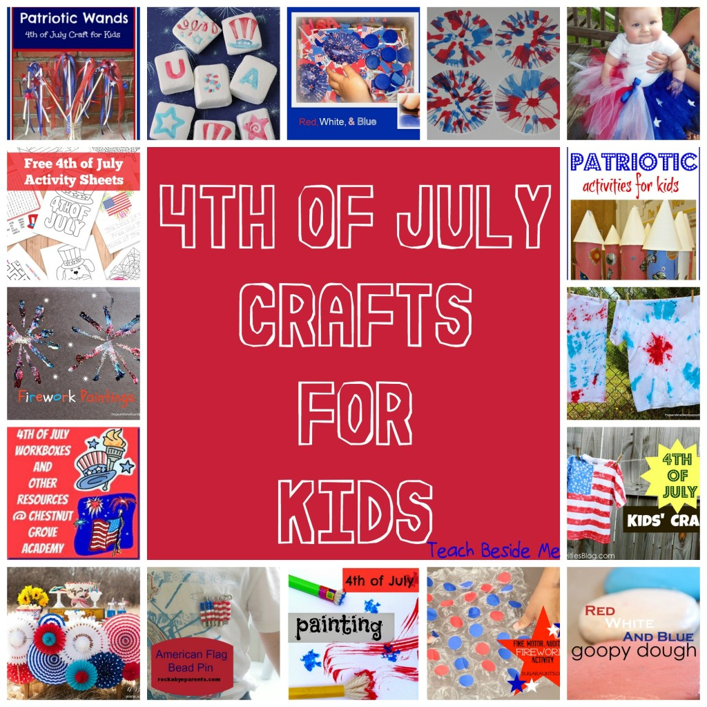 July Share It Saturday 4th Of July Crafts