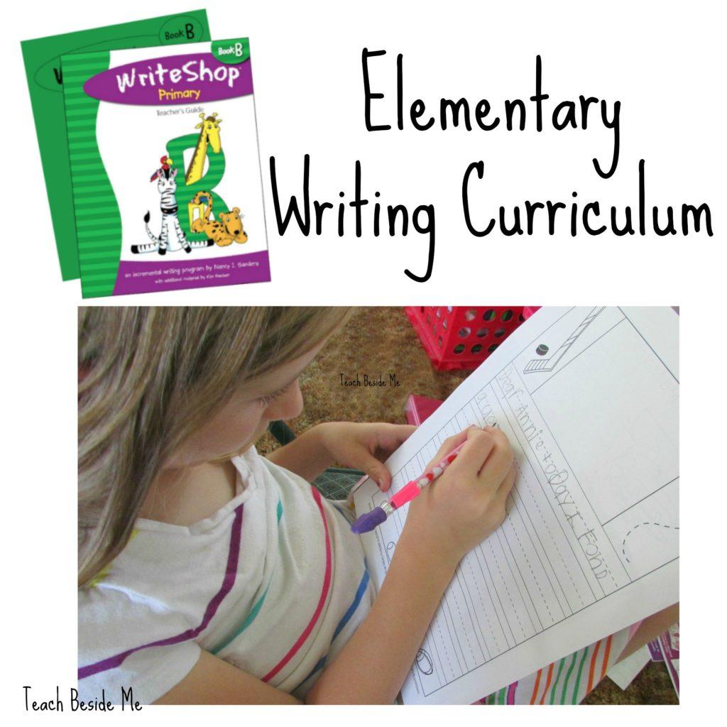 Elementary Writing Curriculum