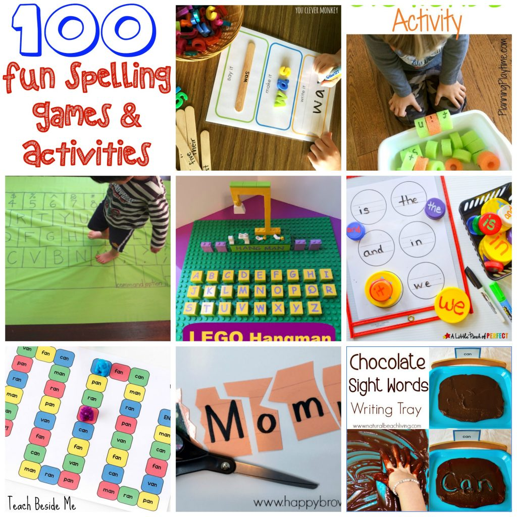 100 Fun Spelling Games And Activities For Kids