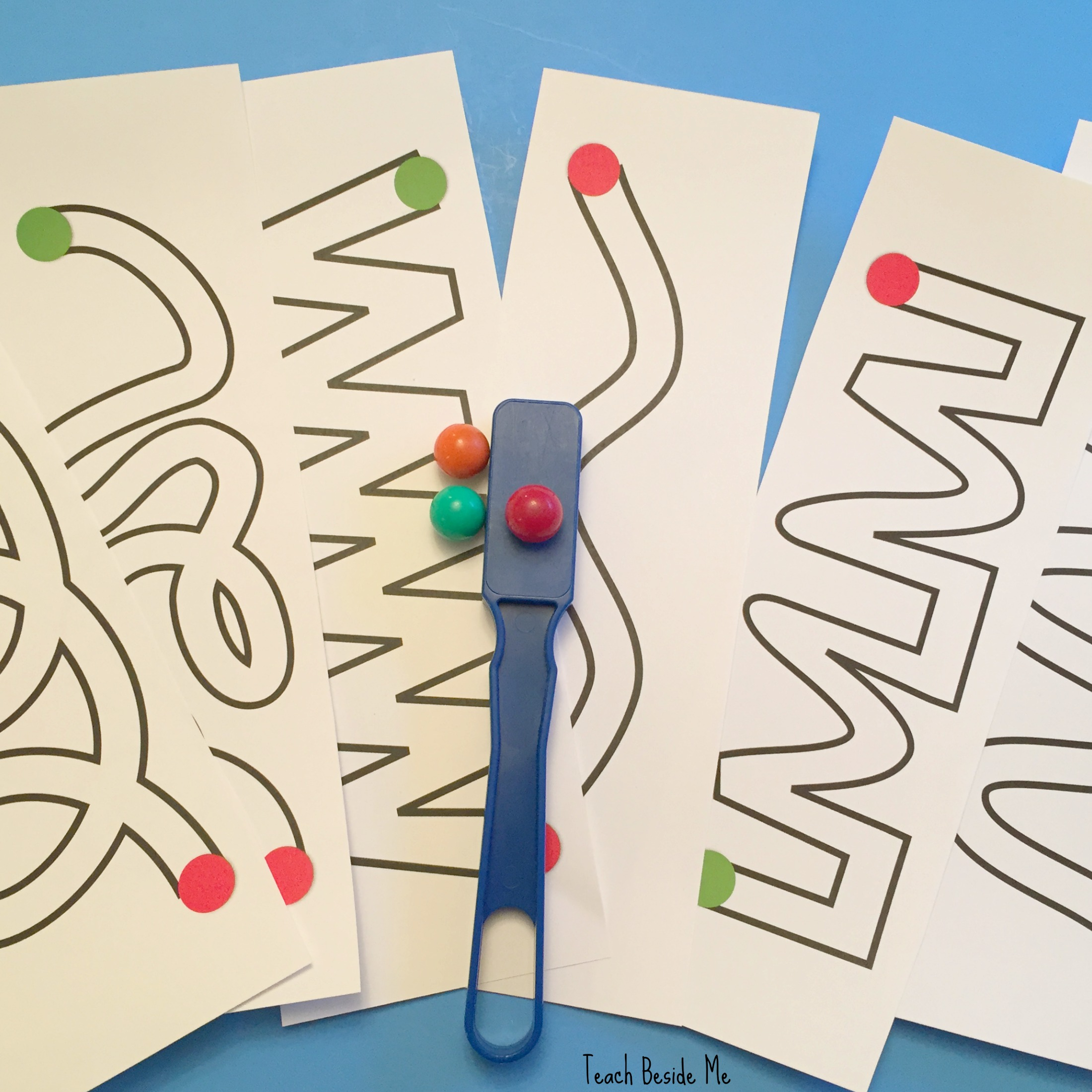 Magnetic Marble Mazes