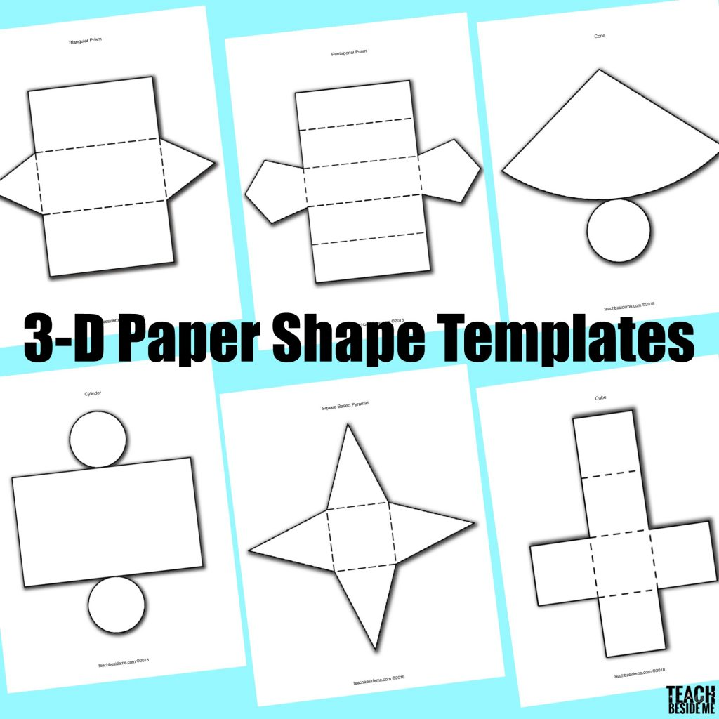 How To Make Paper 3d Shapes