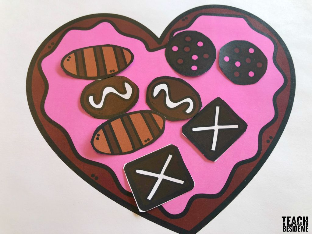 Valentine Chocolate Box Math
