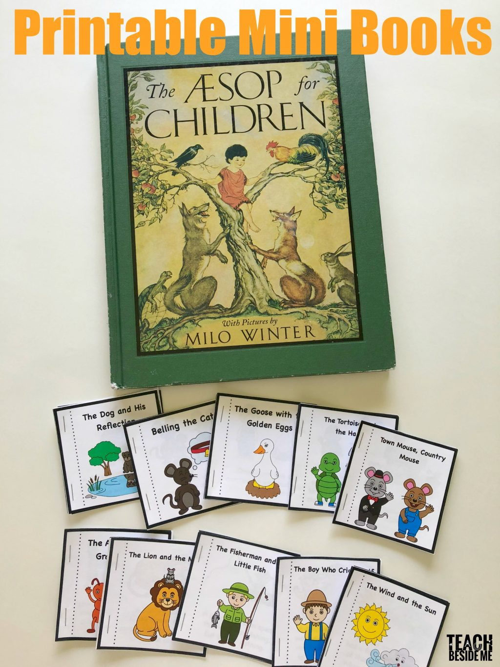 Aesop S Fables Printable Books