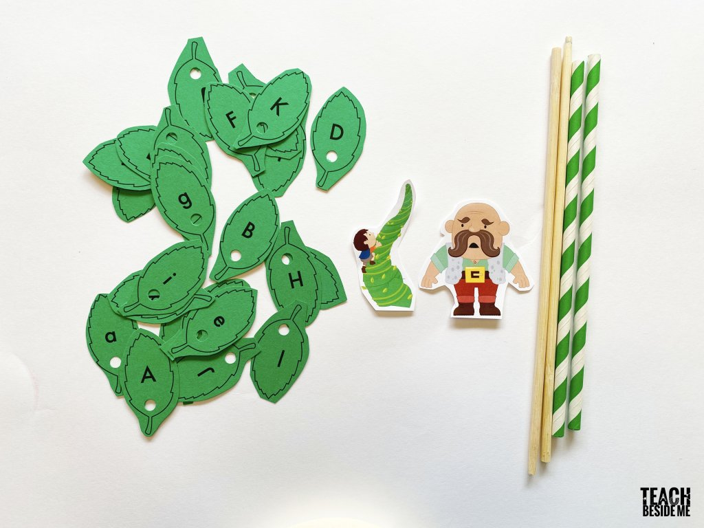 Jack And The Beanstalk Upper And Lower Case Letters
