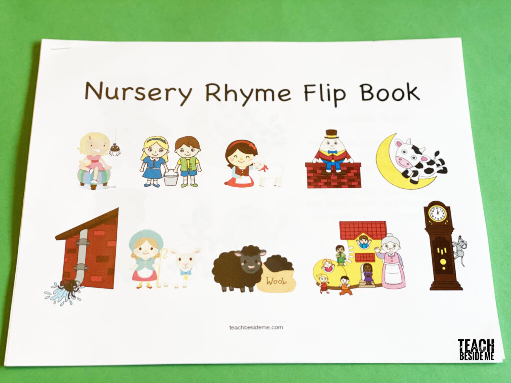 Classic Nursery Rhymes For Kids Learning Pack