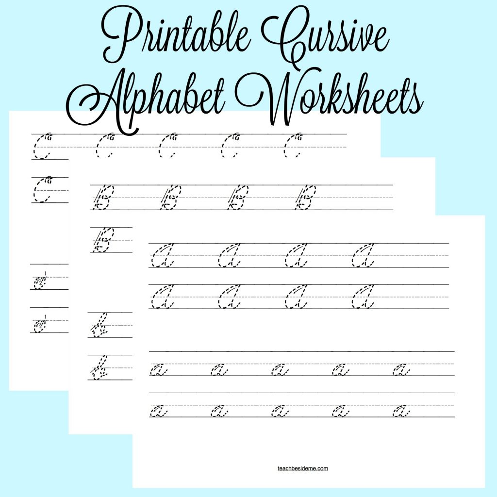 Adult Learning Cursive Worksheet