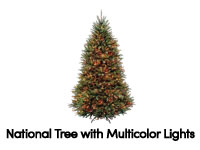 6ft Fiber Optic Christmas Tree