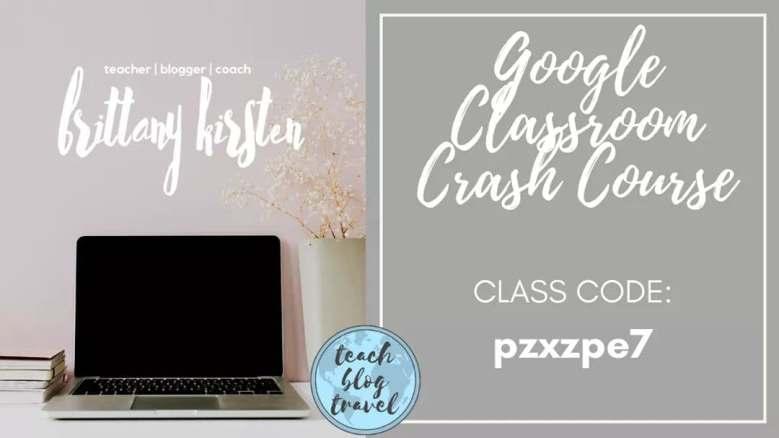 Free Google Classroom Course for Teachers