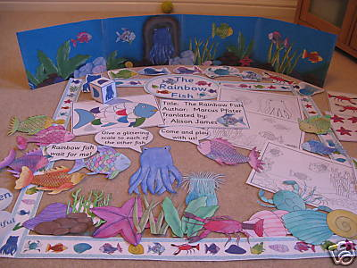 Rainbow Fish Story sack ideas