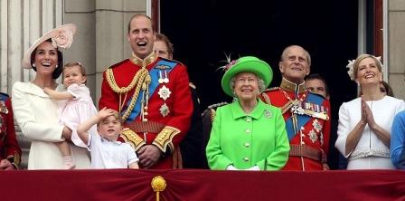 День рождения монарха в Великобритании (Официальный день рождения королевы)