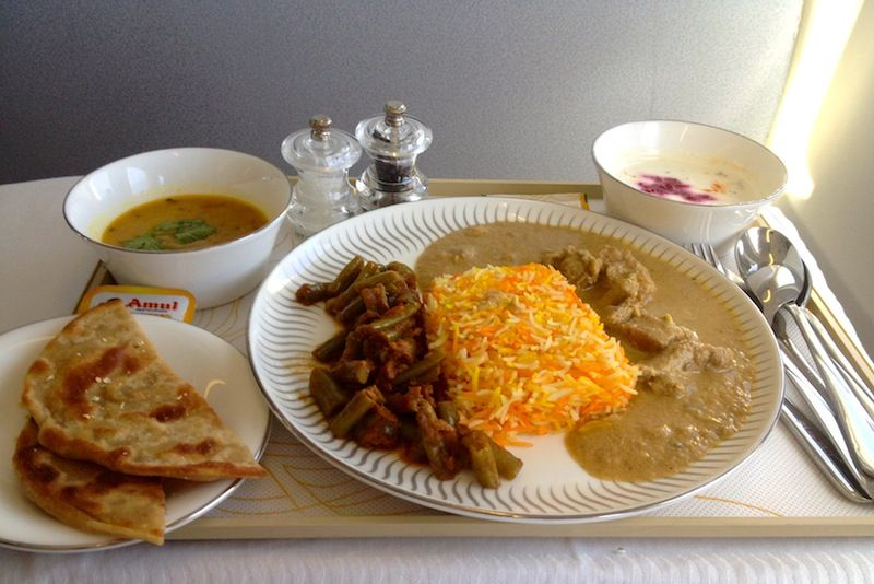 【ジェットエアウェイズ機内食】9W60/BOM-BKK/ムンバイ-バンコク(スワンナプーム)