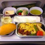 【タイ国際航空機内食】TG677/NRT-BKK/東京(成田)-バンコク(スワンナプーム)