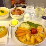 <シンガポール航空機内食>SQ972/SIN-BKK/シンガポール-バンコク