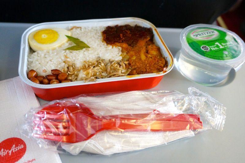 <インドネシアエアアジア機内食>QZ203/CGK-KUL/ジャカルタ-バンコク