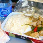 <タイエアアジア機内食>FD396/DMK-DPS/バンコク(ドンムアン)-バリ島(デンパサール)