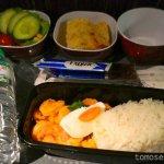 【タイ国際航空機内食】TG418/KUL-BKK/クアラルンプール-バンコク(スワンナプーム)