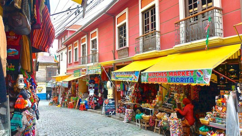 【世界一周】お土産を探しにラパスの魔女市場(魔女通り)へ