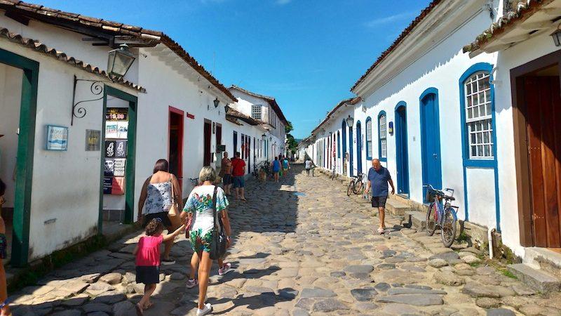 【世界一周】ブラジル人に人気のコロニアルリゾート〜世界遺産パラチーの旧市街を観光