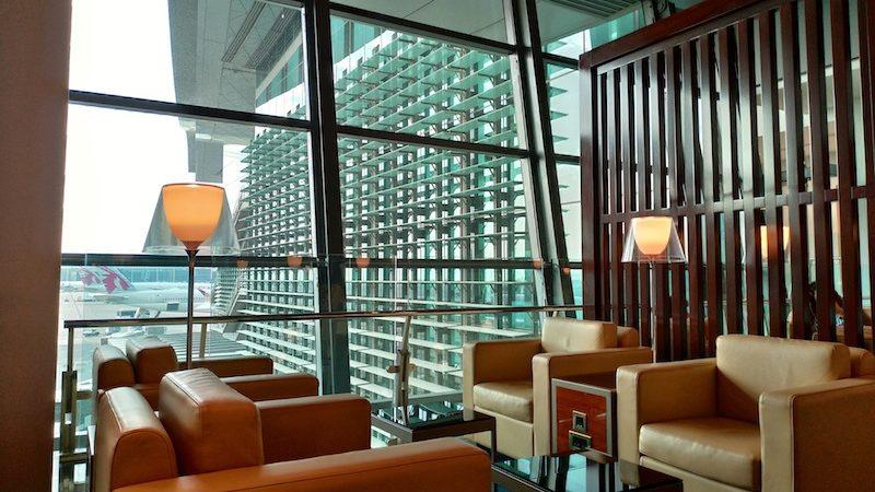 【空港ラウンジ】カタール・ドーハ・ハマド国際空港 「Al Maha Transit Lounge」